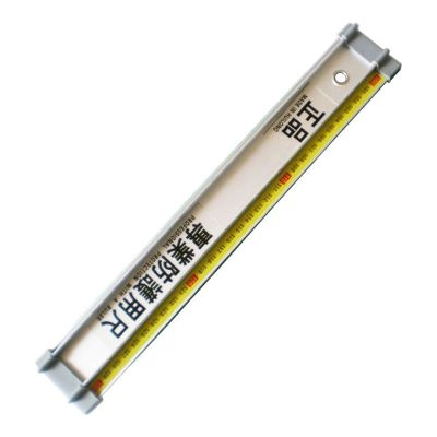 "39.3""(100cm) Anti Slideslip Advertising Aluminum Protection Ruler"