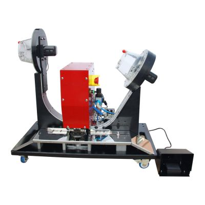 Pneumatic Grommet Machine for Plastic Eyelets