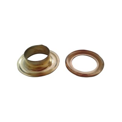 5#(12mm)Golden Iron Grommet for Heavy Duty Hand Press Grommet Machine