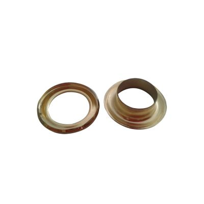 6#(14mm)Golden Iron Grommet for Heavy Duty Hand Press Grommet Machine