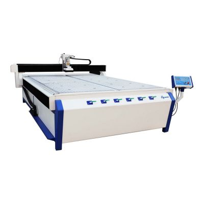 """59"""" x 118"""" 1530 CNC Router, with 4.5KW Italy Spindle and Vacuum System"""