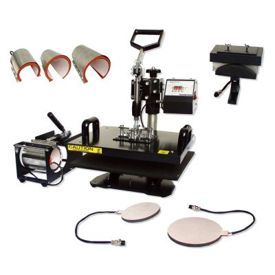 "8 in 1 Combo Heat Press Machine Random Color 5.9"" x 7.8"" (150 x 200mm)"