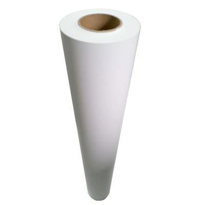"54"" (1.37m) White Glue Self-adhesive Vinyl Film/Vehicle Wrap(One year warranty)"