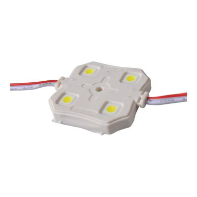 SMD 5050 Waterproof LED Module (4 LEDs, 0.96W, L37 x W37 x H5.8mm) for Illuminate Signs