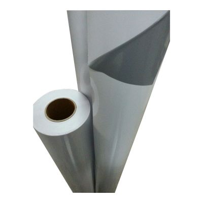 "50"" (1.27m) Grey Glue Self-adhesive Vinyl Film/Vehicle Wrap(One year warranty)"