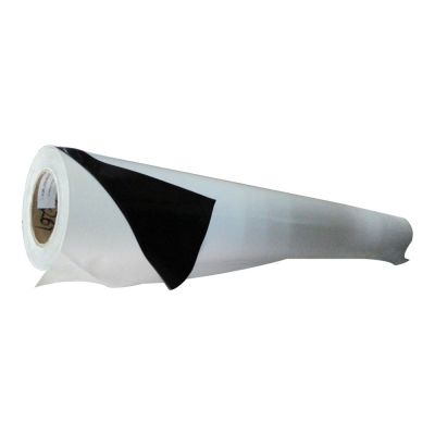 "38.6"" (0.98m) Black Glue Self-adhesive Vinyl Film/Vehicle Wrap(One year warranty)"