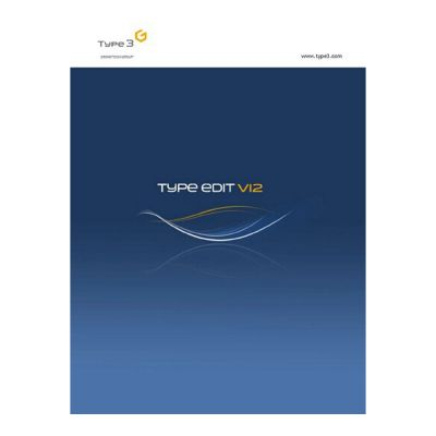 TypeEdit V12 CAD/CAM Engraving Software, 2D Version