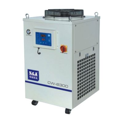 S&A 3.73HP, AC 1P 220V, 50HZ CW-6300AN Industrial Water Chiller (for Single 300W YAG Laser, 300W CO2 RF Laser, 300W Laser Diode Cooling)