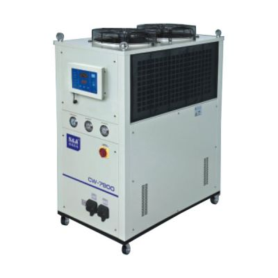 S&A 12HP, AC 3P 380V 60HZ CW-7900FN Industrial Remmote Control Water Chiller (for Single 5000W Fiber Laser or 800W-900W YAG laser Cooling)