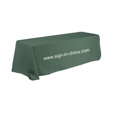 8FT (4) Full Length Sides Rectangular Dye-sublimation Table Throws with Custom Logo (Multicolor optional)