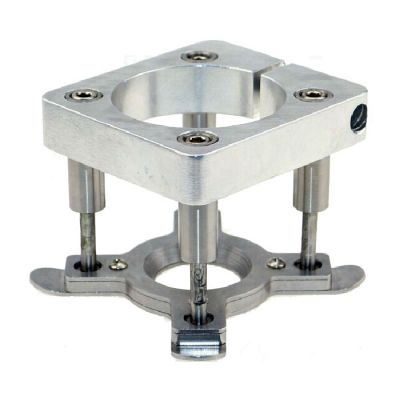 Diameter 80mm Automatic Fixture Clamp Plate Device for 1.5KW/2.2KW Spindle Motor of CNC Router