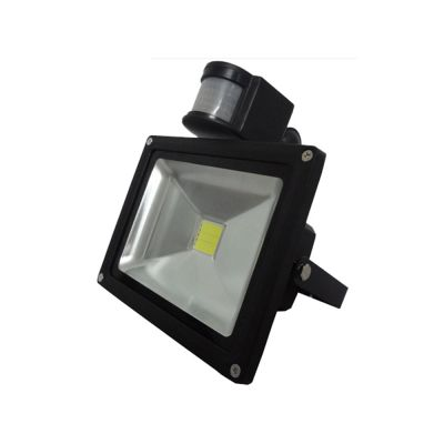 20W LED Human Body Induction Flood Light Outdoor Landscape Lamp