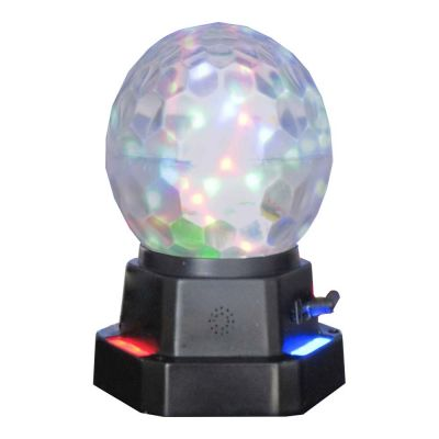 Mobile Rechargeable Full Color Rotation LED Crystal Ball