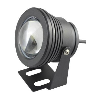 12-24V 10W RGB Black Underwater Lamp