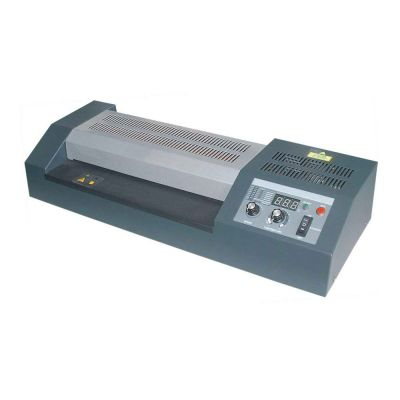 """12.5"""" High Temperature and Adjustable-speed Hot Pouch Laminator with Four Roller"""