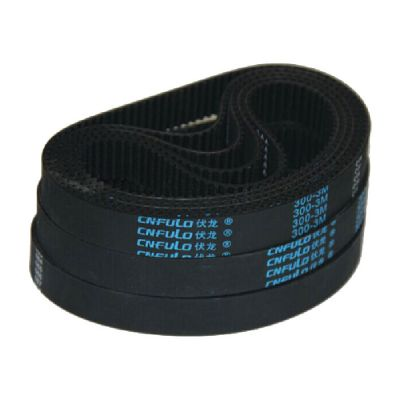 Loop Rubber Timing Belt 300-3M for CO2 Laser Cutter, 15mm Width and 300mm Length, Pitch 3mm