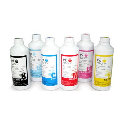 1 Liter Water-base Reactive Dye Inkjet Ink for Textile Fabric Printing (Korea)