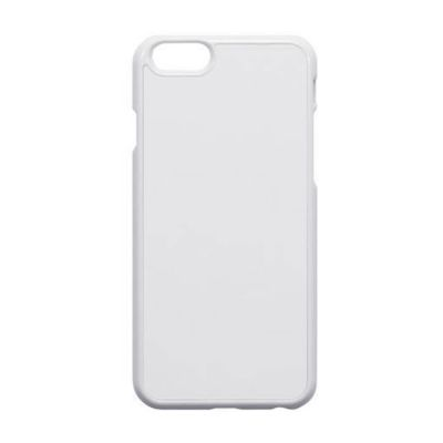 iPhone 6 Blank Cell Phone Case Cover with Metal Sheet for 2D Sublimation Heat Transfer Printing