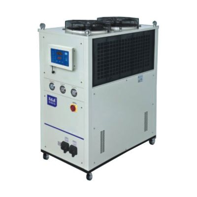 S&A CW-7500FN Industrial Remmote Control Water Chiller (6.05HP, AC 3P 380V, 60HZ) for Single 3000W Fiber Laser or 400W-500W YAG laser Cooling