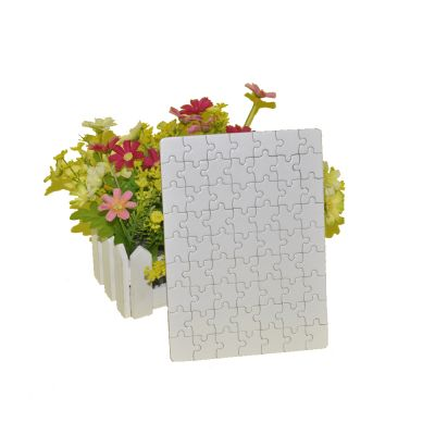 "4.2"" x 4.2"" Pearlescent Square UV Printing Blank Jigsaw Puzzle Child Toy"