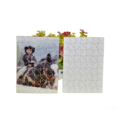 """5.1"""" x 7.0"""" Pearlescent UV Printing Blank Jigsaw Puzzle Child Toy"""