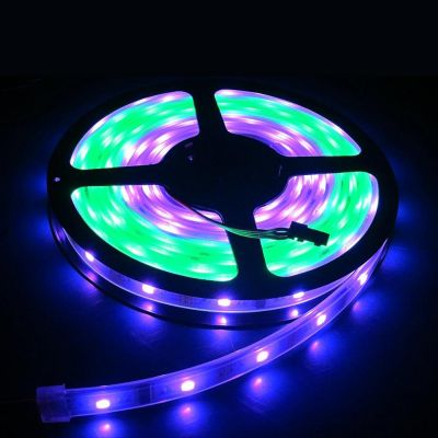 RGB 5M Waterproof IP65 150 LED Strip Light 5050 SMD String Ribbon Tape Roll 12VDC