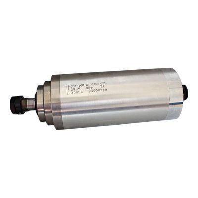 3KW 24000rpm Water Cooled Spindle Motor for CNC Engraving Milling & Grinding, 380V, Dia.  100 x 220mm