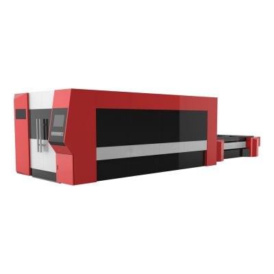 "59"" x 118"" 1530 700W Nlight Fiber Laser Cutter for Metal Sheet, Close Design"