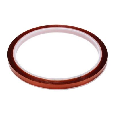 3mm X 100FT 3D Sublimation Kapton Tape, Heat Resistance Proof Tape for Heat Transfer Print