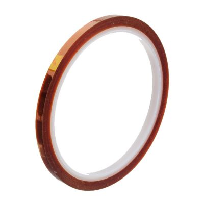 Limited Offer-5mm X 100FT 3D Sublimation Kapton Tape, Heat Resistance Proof Tape for Heat Transfer Print