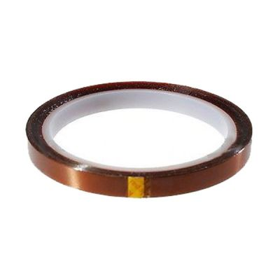 6mm X 100FT 3D Sublimation Kapton Tape, Heat Resistance Proof Tape for Heat Transfer Print