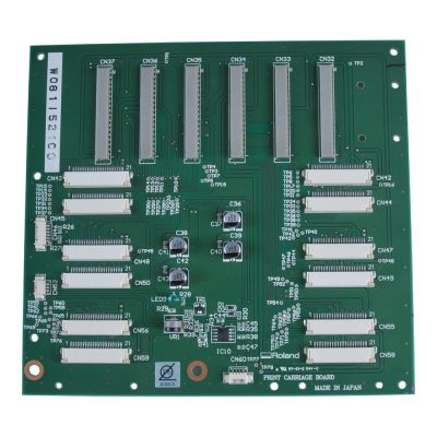 Original Roland Carriage Board for SJ-540 / SJ-740 / FJ-540 / FJ-740 - W8115021C0