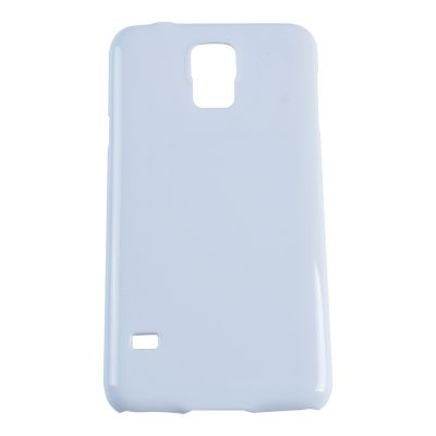 3D Sublimation White Samsung S5 Blank Cell Phone Case Cover for Heat Transfer Printing