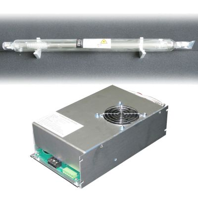 RECI CO2 Sealed Laser Tube 100W-130W W4 / S4 + DY13 220V Power Supply