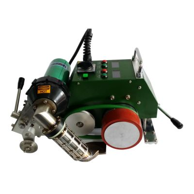 AC110V Automatic Hot Air Welding Machine with 30mm Nozzle for PVC Flex Banner