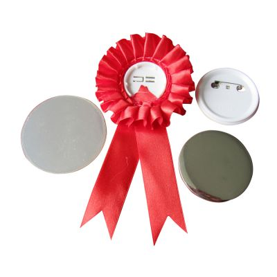 800pcs Blank 58mm Rosette Button