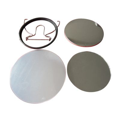 400pcs 100mm Mirror Button Supplies