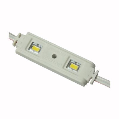 Samsung SMD 5630 High Power Waterproof LED Module (2 LEDs, 1.2W, White Light, L57 x W15x H6.5mm) for Channel Letters