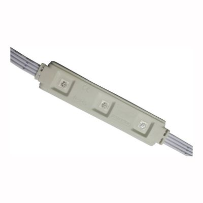 SMD 5050 Waterproof LED Module (3 LEDs, RGB Light, 0.72 W, L78 x W15 x H6mm) for Channel Letters