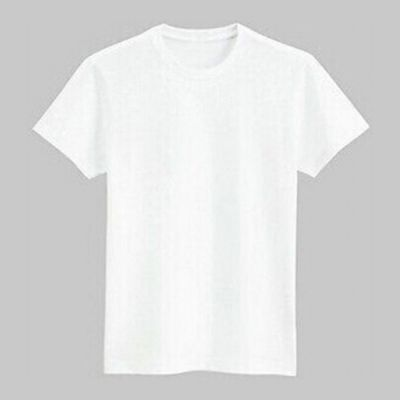 Plain White Sublimation Blank Polyester T-Shirt for Women
