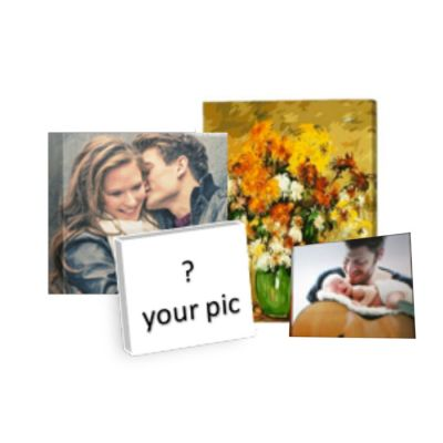 Custom Gallery Wrapped Canvas Painting Print On Canvas, Wall Art Pictures