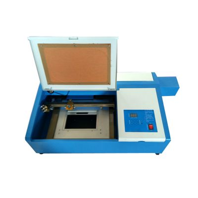 Desktop CO2 Laser Engraving Machine, with Up and Down Table 50W Laser