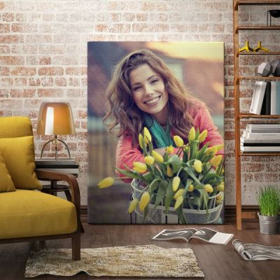 Large HD Canvas Prints on Coated Photo Paper, High Quality Customized Wall Art Painting Pictures