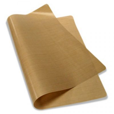 "16"" x 24"" PTFE Coated Fiberglass Fabric Sheet 5Mil Thickness for Sublimation Printing"