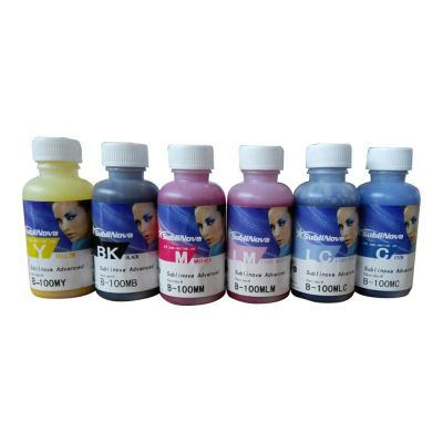 US Stock, Inktec Sublinova Smart Dye DTI Sublimation Ink Set 100ml x 6 for EPSON