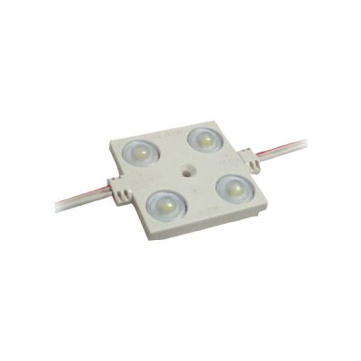 SMD 2835 Waterproof LED Module (4 LEDs, white Light, 1.44 W, L46 x W36.5 x H7mm) Suitable for 8-25cm Sign Words, Advertising Light Box