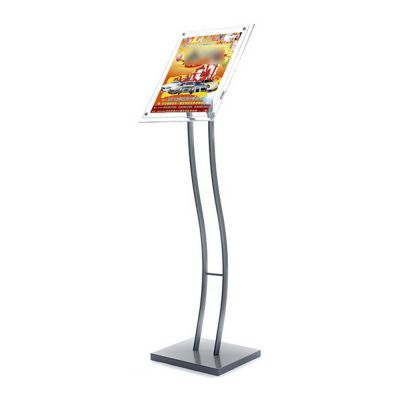 A3 Size Pedestal Sign Stand Acrylic Display Frame