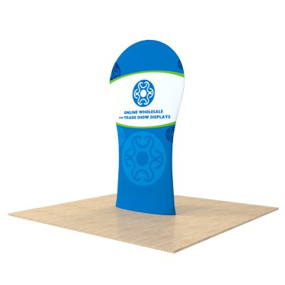 New Allure Fabric Tension Banner Stands (Model Four)