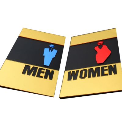 Male, Female, Restroom Signs, Toilet Signs