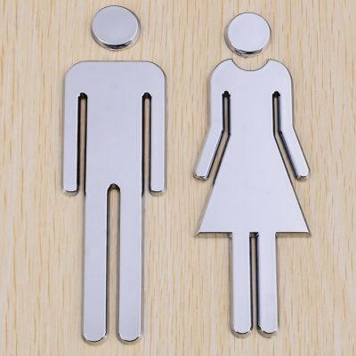 Male & Female, Restroom Signs, Toilet Signs